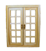 Wooden Opening French Windows