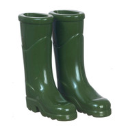 Green Outdoor Wellington Boots
