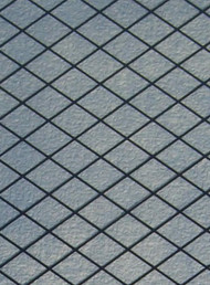 A4 Diamond Leaded Glass Effect Plastic Sheeting