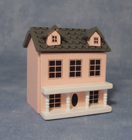 A Pink Wooden Dolls, Dolls House, D2283