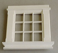Georgian 9 Pane Window