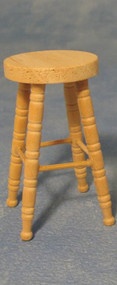 Bar Stool Bare Wood