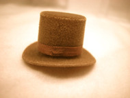 Light Brown Heidi Ott Top Hat