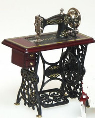 Heidi Ott Mahogany Treadle Sewing Machine