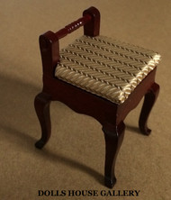 Heidi Ott Mahogany Small  Chair