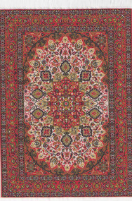 Large Turkish Carpet Rug Red