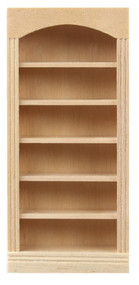 1/24th Scale 5-Shelf Bookcase