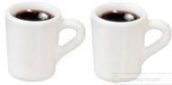 Two Filled Coffee Mugs