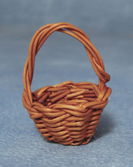 Small Dark Brown Shopping Basket