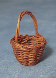 Dark Brown Medium Shopping Basket