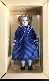 Heidi Ott Doll, Young Girl Wearing Blue Dress