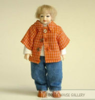 Heidi Ott Doll, Young Boy In Blue & Red