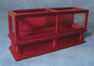 Shop Display Counter in Mahogany