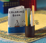 Colouring Book & Pencil Set