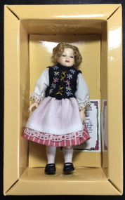 Heidi Ott Doll Young Girl In Swiss Dress