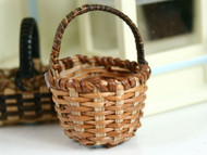 Round Cross Weave Basket
