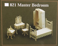 1/12th Scale Master Bedroom Furniture Set