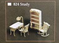 1/12th Scale Study Furniture Set