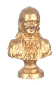 Benjamin Franklin Bust Ornament