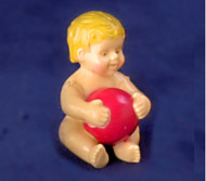 Baby With Red Ball