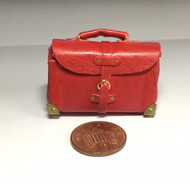 Heidi Ott Travel Bag Red