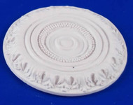 Heidi Ott Small Ceiling Rose Plain Finish 40mm