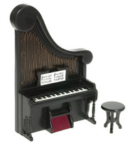 Harp Organ  With Stool