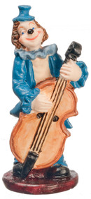 Ornamental Clown Playing Bass
