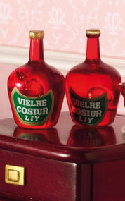 Two Liqueur Bottles