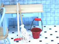 Mop, Brush & Bucket Set