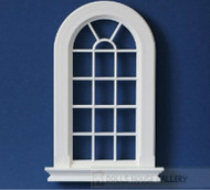 Large Georgian 16 Pane Window Slightly Cream Colour