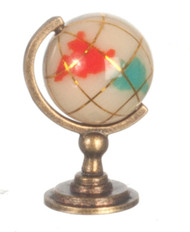 Marble & Copper Small World Globe