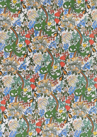 Wallpaper Golden Lily William Morris Design