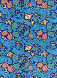 Wallpaper Bachelors William Morris Design