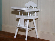 White High Chair Design 2