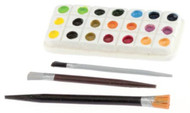 Paint Palette & Brushes