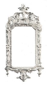 Silver Ornate Victorian Frame