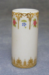 White Patterned Umbrella Stand