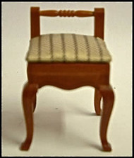 Heidi Ott Walnut Small  Chair