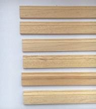 6 Lengths Of Quality Wood Skirting Board  430mm by 20mm