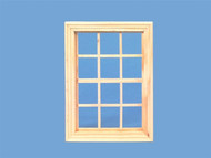Georgian Wooden Window 150mm by 110mm