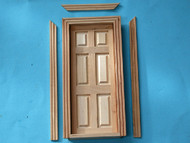 6 Panel Barewood Internal Door
