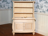 Barewood display unit - 2 handles & 2 knobs supplied loose.