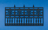 4 Panel Ornate Plastic Railing / Fence (Style 1)