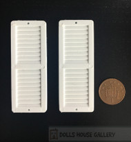 24th Scale White Shutters