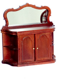 Sideboard With Mirror In Mahogany
