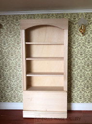Bare Wood Bookcase