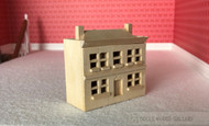 Bare Wood Dolls House