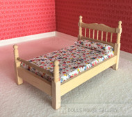 Bare Wood Single Bed