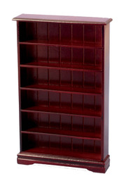 Mahogany Bookcase 6 Shelf